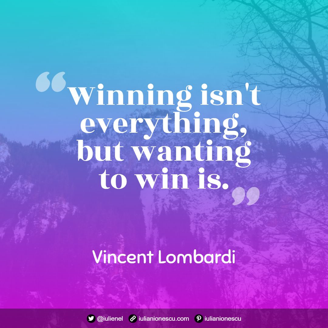 Vincent Lombardi quote