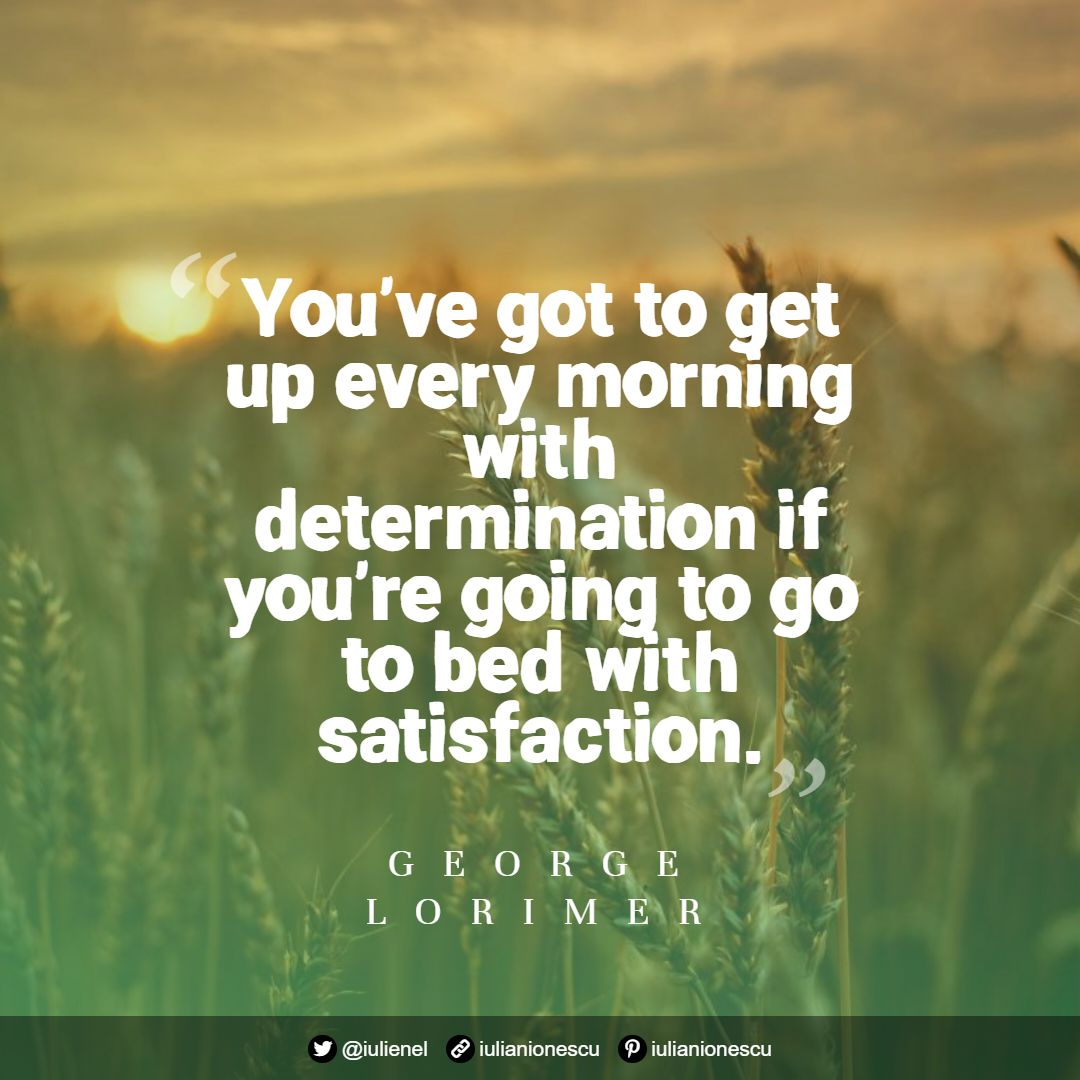 George Lorimer quote