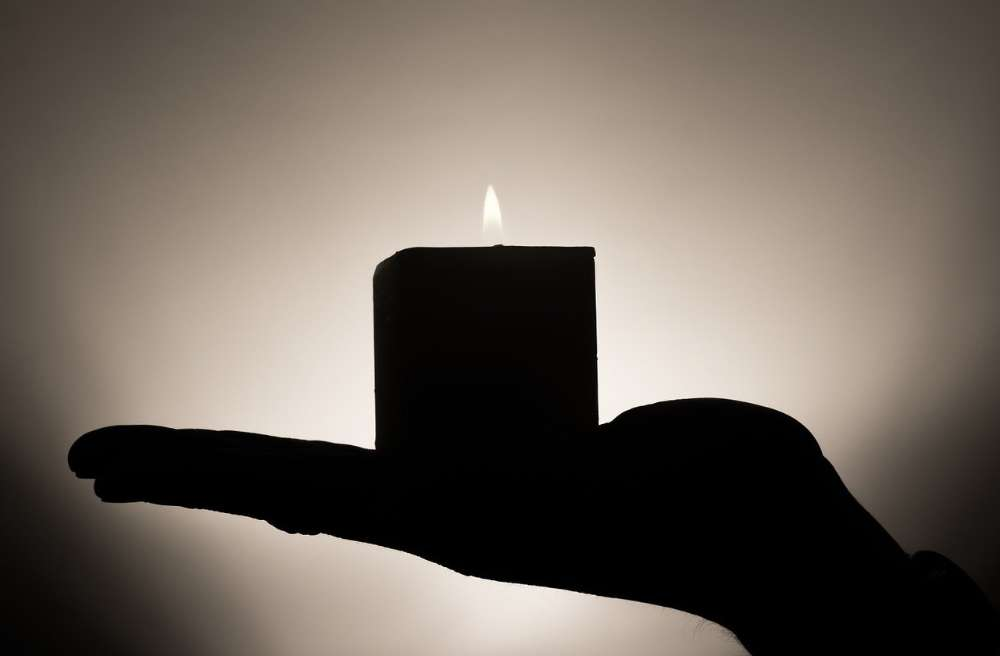 candle peace serenity