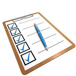 checklists productivity