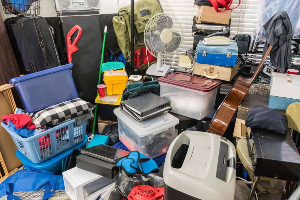 how to declutter mess
