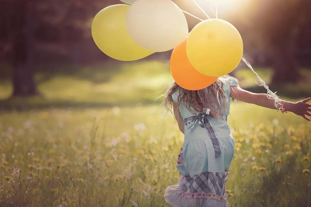 enjoy life balloons happy