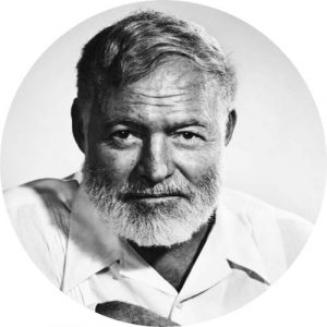 ernest hemingway author writing habits