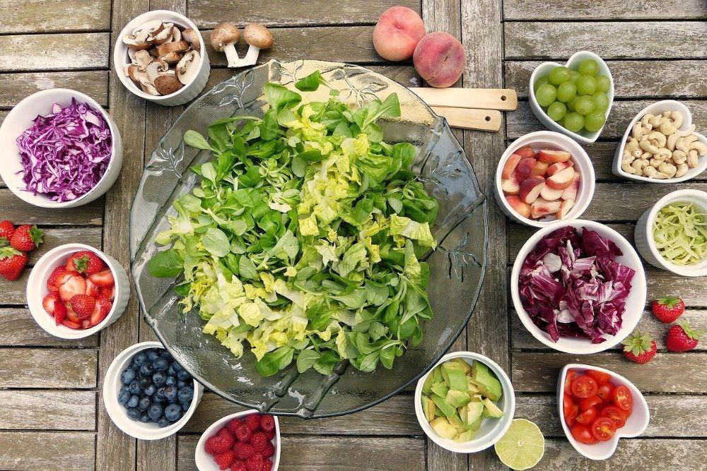 healthy food eating