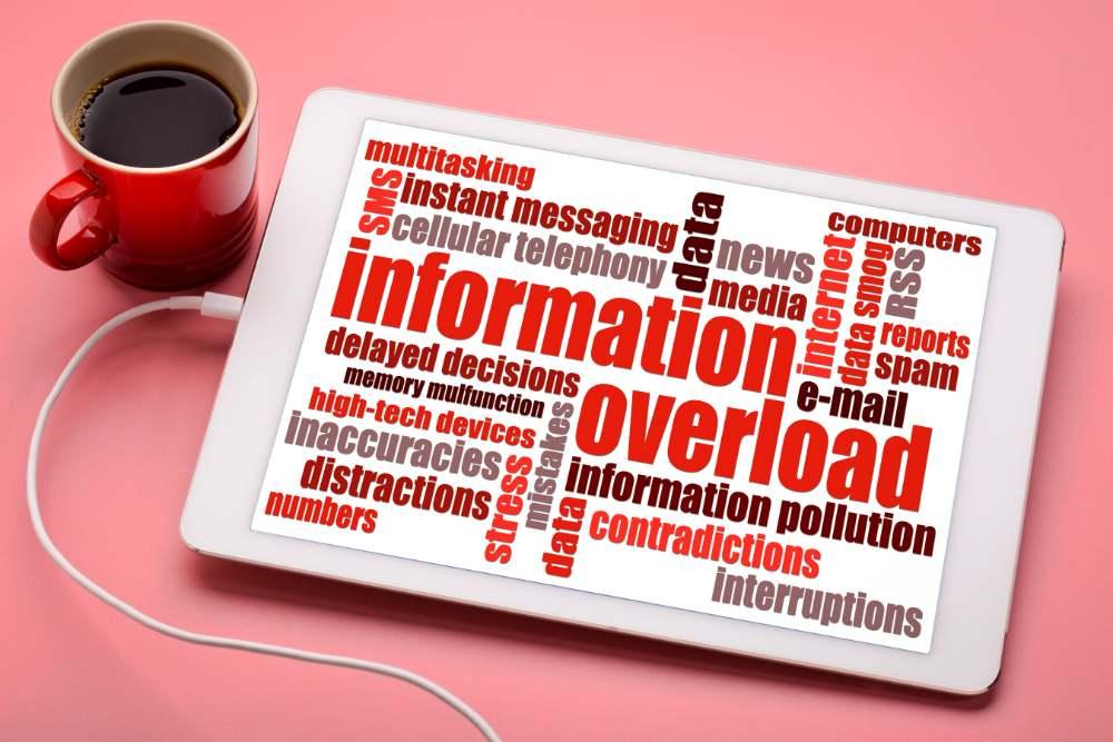 information overload media