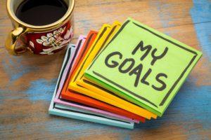 goals aims targets