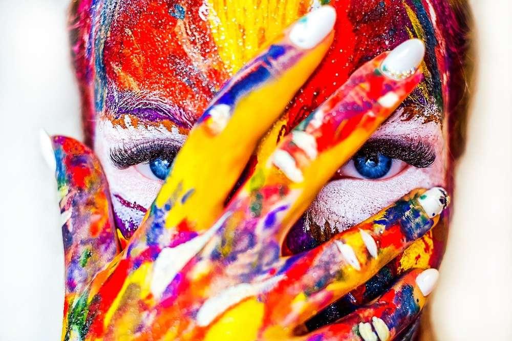 paint face creativity