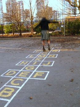 playtime grownups hopscotch