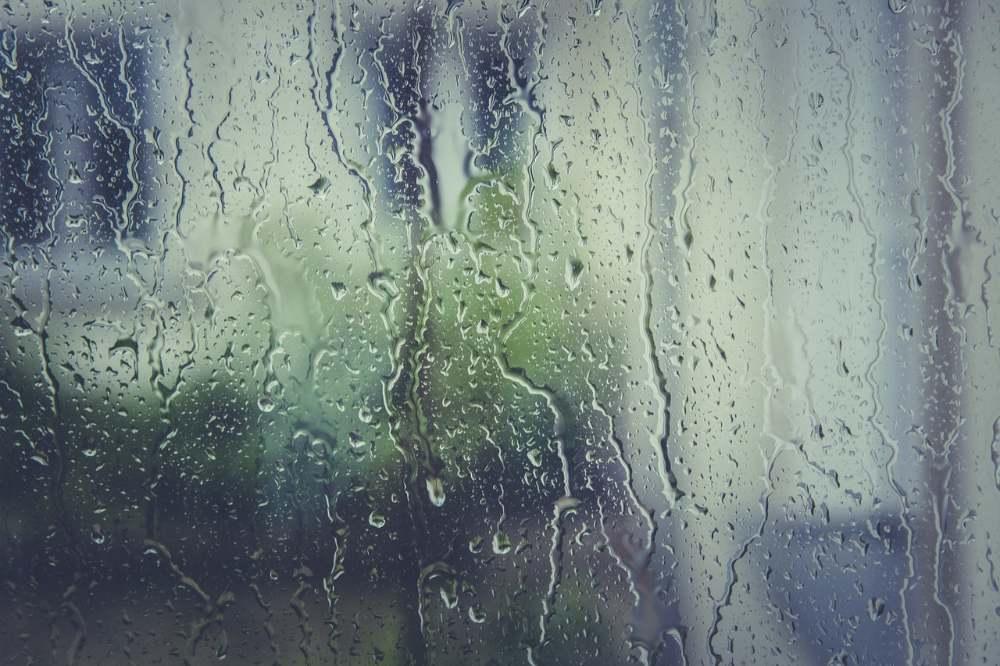 rain drops window sadness