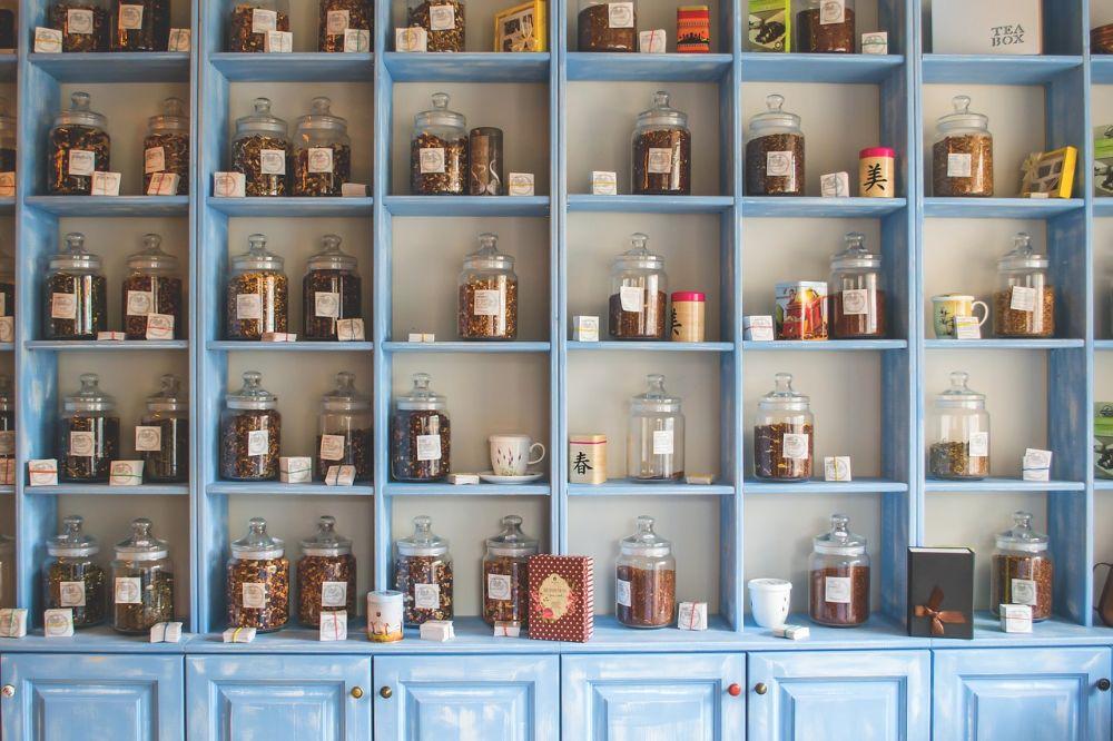 shelves organized archive