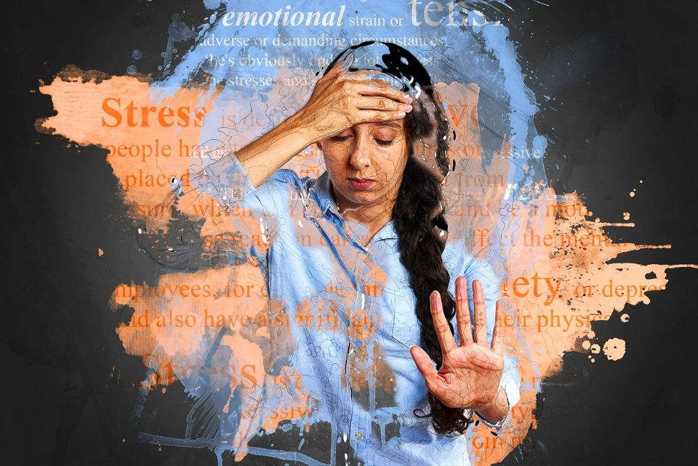 how to manage stress and axiety