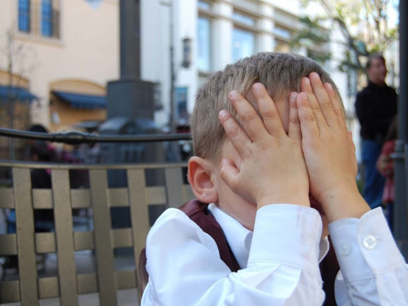 things we all do embarrassed boy