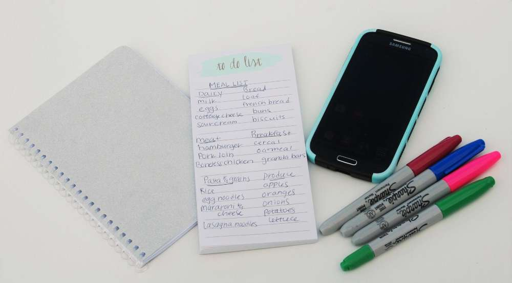to-do list plan phone