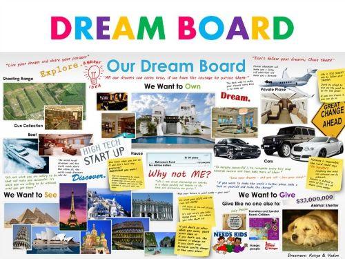 vision board ideas dreams