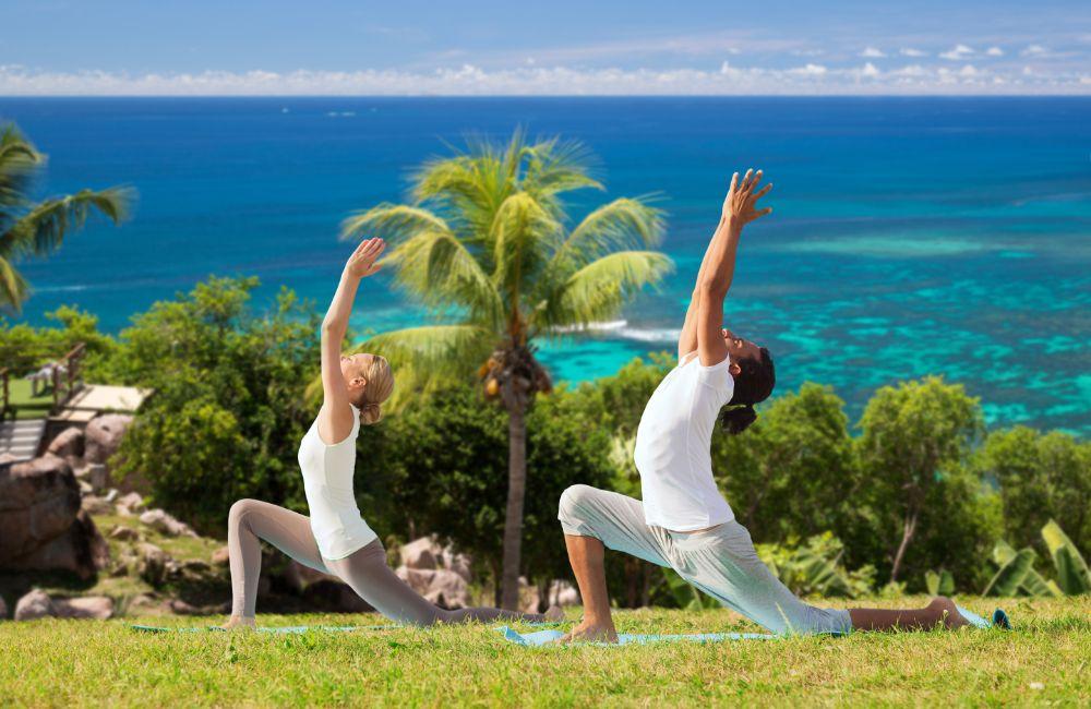 yoga workout stretch